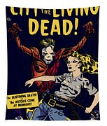 City Of The Living Dead Comic Book Poster Tapestry
