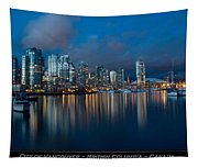 City Of Vancouver British Columbia Canada Tapestry