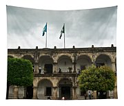 City Square Antigua Guatemala Tapestry