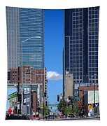 City Street Canyon Tapestry