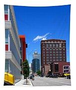 City Street Tapestry