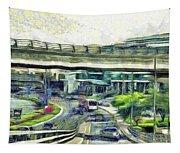 City Traffic Tapestry