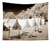 Civil War Encampment - Infrared Tapestry