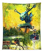 Clarksdale Authentic Madness Tapestry