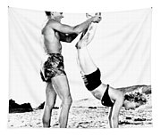 Clash By Night With Marilyn Monroe Tapestry