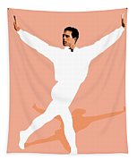Ballet Master Dancer Tapestry