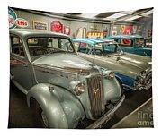 Classic Car Memorabilia Tapestry