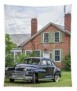 Classic Chrysler 1940s Sedan Tapestry