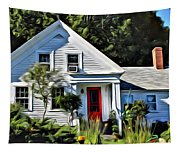 Classic Maine New Englander Tapestry
