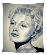 Classic Rita Hayworth Tapestry
