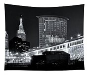 Classic View In Cle Tapestry