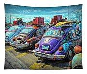 Classic Volkswagen Beetle - Old Vw Bug Tapestry