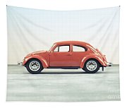 Classic Vw Bug Red Tapestry