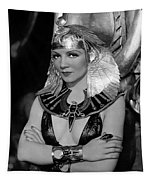 Claudette Colbert In Cleopatra 1934 Tapestry