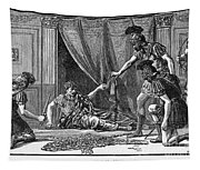 Claudius And Guards Tapestry