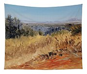 Clear Cut View Tapestry