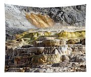 Cleopatra Terrace In Yellowstone National Park Tapestry