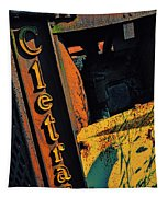 Cletrac Crawler Tractor Tapestry