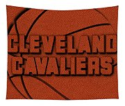 Cleveland Cavaliers Leather Art Tapestry