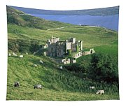 Clifden Castle, Co Galway, Ireland 19th Tapestry