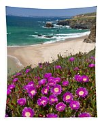 Cliff Flowers Tapestry