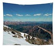 Climbing Greys Peak Tapestry