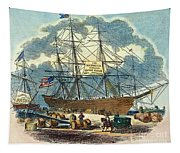 Clipper: Flying Cloud, 1851 Tapestry