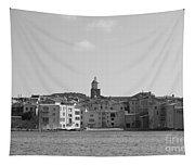 Clocher De Saint - Tropez Vue De La Mer  Tapestry