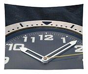 Clock Face Tapestry