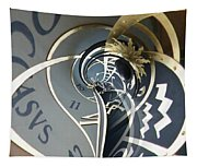 Clockface 4 Tapestry