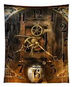 Clockmaker - A Sharp Looking Time Piece Tapestry