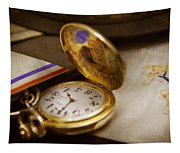Clockmaker - Time Never Waits  Tapestry