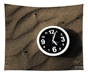 Clocks And Ripples Tapestry