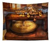 Clocksmith - The Gear Cutting Machine  Tapestry