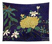 Cloisonee' Flower Tapestry