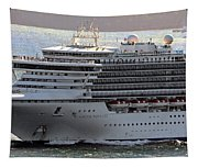Close Up Of Diamond Princess Tapestry