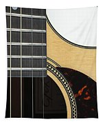 Close-up Of Steel-string Guitar Tapestry