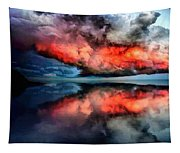 Cloud Fantasia Reflected L A S Tapestry