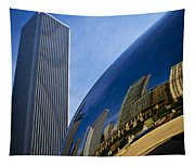 Cloud Gate And Aon Center Tapestry