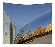 Cloud Gate - Reflection - Chicago Tapestry
