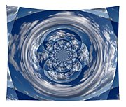 Cloud Spiral Tapestry