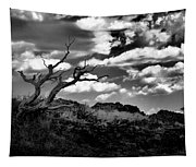 Clouds And A Tree Baw Tapestry