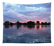 Clouds And Sunset Reflection In Prosser Tapestry