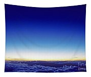Clouds At Sunset Tapestry