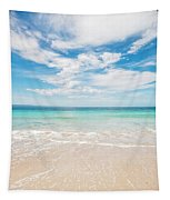 Clouds Over Blue Sea Tapestry