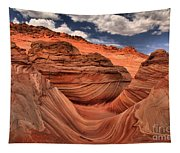 Clouds Over Coyote Buttes North Tapestry