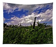 Clouds Over Gettysburg Tapestry