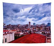 Clouds Over Havana Tapestry