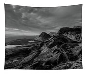 Clouds Over The Isle Of Skye Tapestry