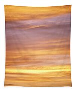 Cloudy Sunset Sky Tapestry